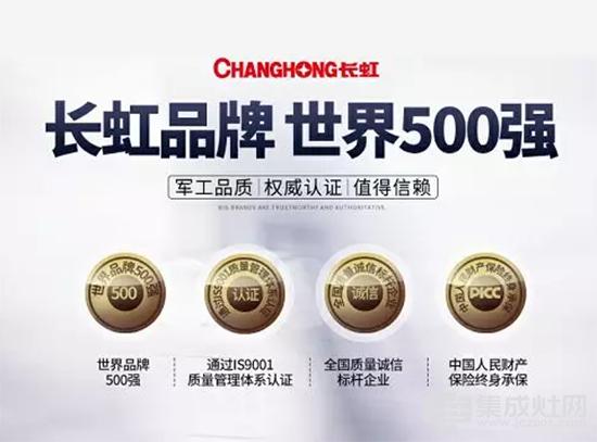 长虹品牌 世界500强