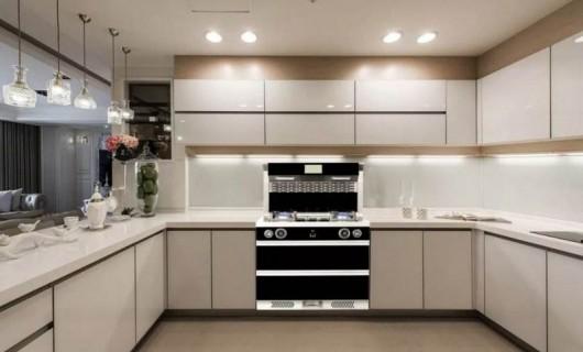 选好了集成灶 半开放式厨房 安排上了