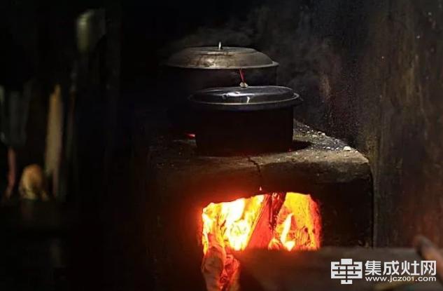 黑厨房,土灶台