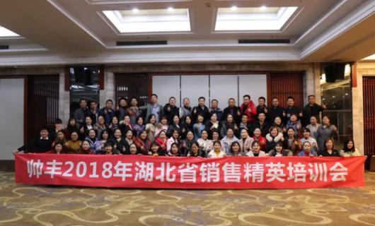 帅丰营训部正式成立 于湖北省展开的培训会圆满召开
