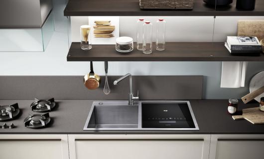 德普凯信水槽洗碗机:无需担心洗洁精有残留 不止洗碗 超声波洗果蔬海鲜