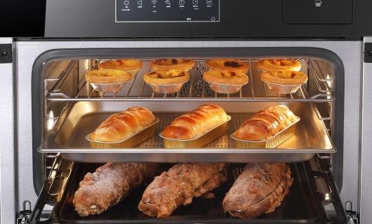 德普凯信WIFI智控彩屏蒸烤机上新:多彩美食 出彩生活 刷新厨房新视界