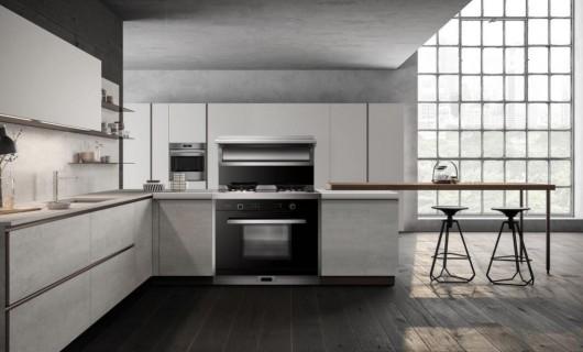 图片赏析:这就是装了美多集成灶的厨房 好看不