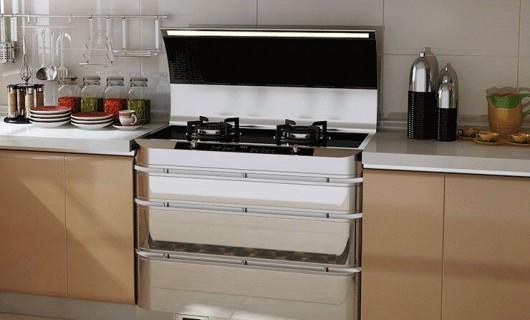 橱柜和集成灶不能搭配出气质 是你OUT了