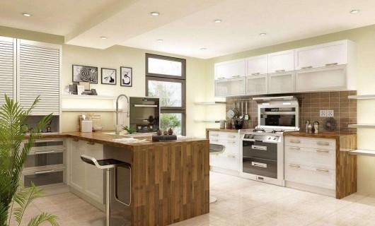 同样是厨房装修 为什么用了集成灶的人家独具高级感