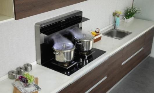 想要惊艳的厨房装修 试试开放式厨房 全屋定制 还有分体式集成灶