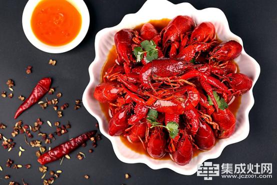 集成灶十大品牌金利:爆炒小龙虾,夏日最受欢迎的下酒菜(1)265