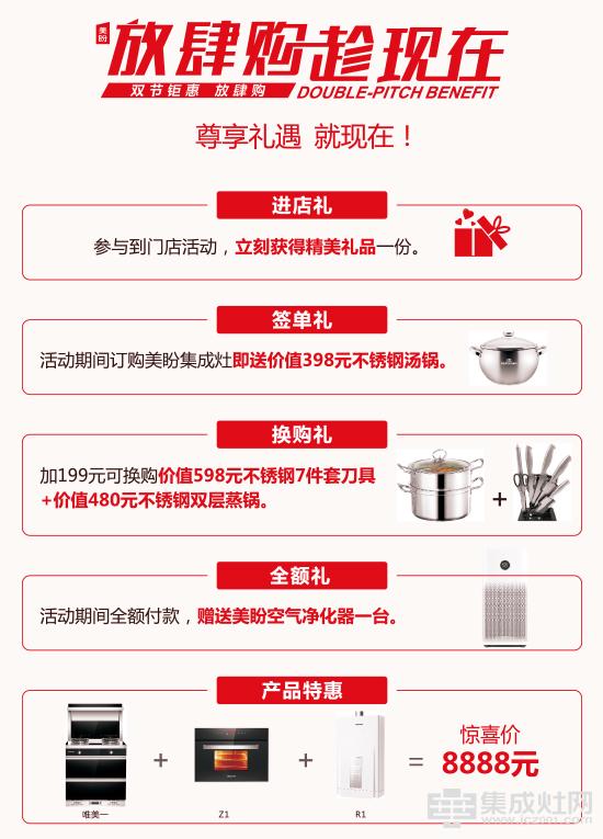 """美盼推出新""""厨电三件套""""碾压对手1148"""