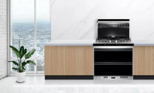 森歌集成灶:开放式厨房的装修难点终于有了解决办法