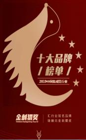 """喜报:未来人集成灶荣获2019年度""""中国集成灶金刺猬奖""""164"""