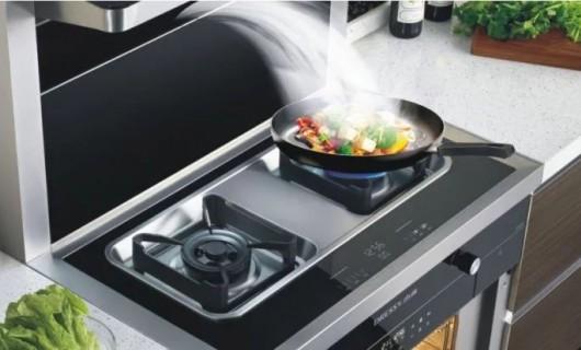 杰森集成灶:白云伴蓝天 杰森伴你开启开放式厨房