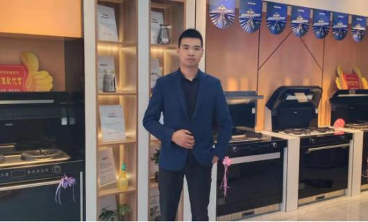 经销商专访 松滋杨洪:将压力化为动力 和佳歌集成灶共同成长