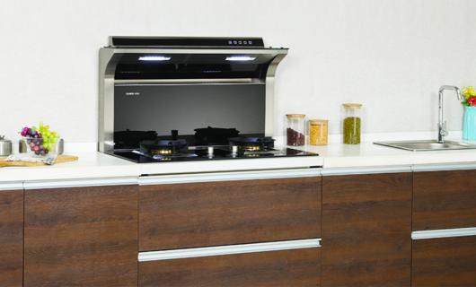 厨房灶具哪家强 且看功能超群的卡梦帝分体式集成灶
