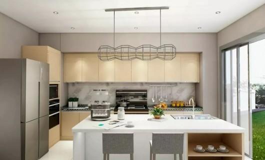 森歌集成灶:厨房装修 他们的厨房真的很漂亮