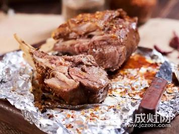 尼泰集成灶:美食 孜然烤羊排