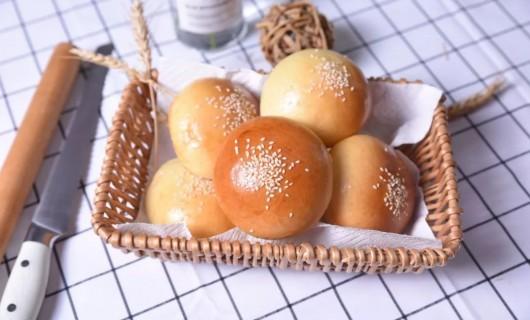 德普凯信集成灶美食 豆沙小餐包