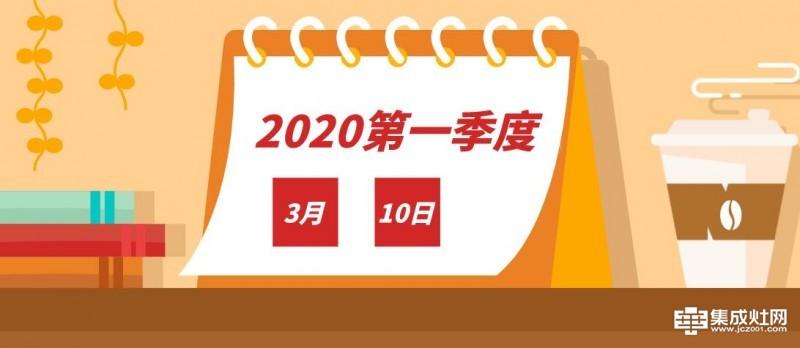 第一季度即将收官 同比去年 2020年集成灶市场表现如何