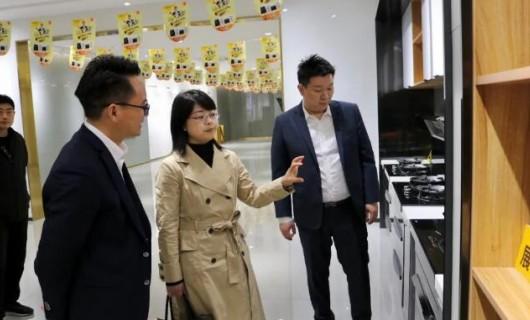 市科技局局长王霞燕到访雅士林集成灶