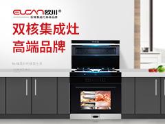 欧川集成灶经典系列厨房效果图