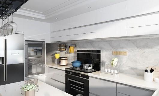 奥田集成灶:厨房装修效果图欣赏 值得借鉴的开放式厨房