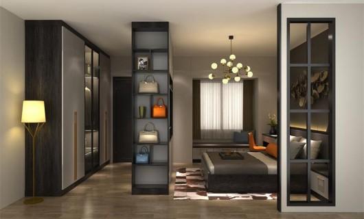 优格全屋定制 这样的意式轻奢范卧室 太让人着迷