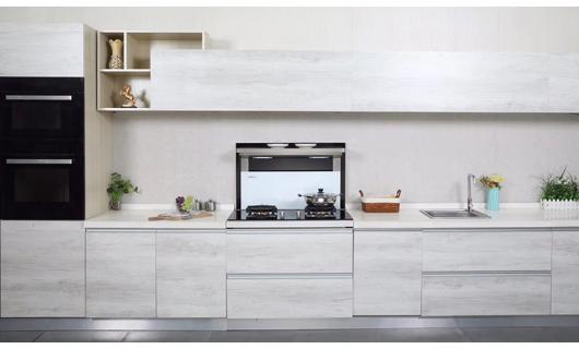 厨房空间大变身 都是卡梦帝分体式集成灶的功劳
