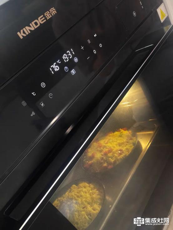 金帝集成灶X900ZK蒸烤一体机使用体验:产品好 功能全 信得过