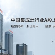 浙江美大实业股份有限公司