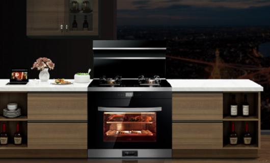 集成灶十大品牌:火王AI智能集成灶 厨房换装好选择