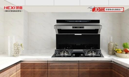 集成灶十大品牌 贺喜分体式集成灶:厨房界的新宠