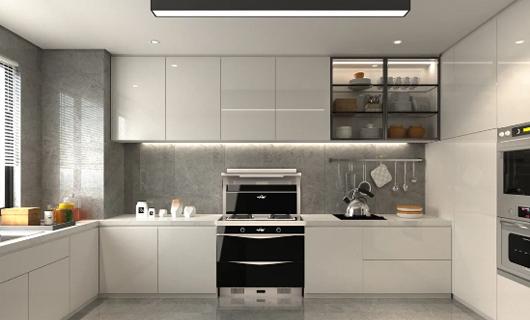 欧诺尼集成灶:开放式厨房除了好看 还更加实用的
