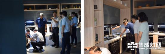 中国五金制品协会副理事长孟凡波一行莅临美多集成灶考察指导