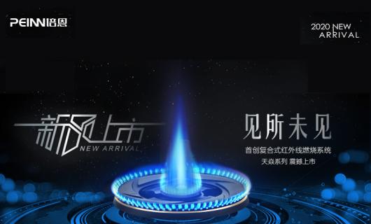培恩新品天焱系列集成灶 复合式红外线燃烧系统