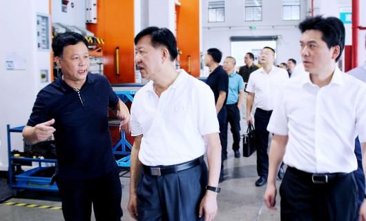 聚焦:浙江省智能制造专家委员会主任毛光烈一行莅临森歌电器调研指导工作