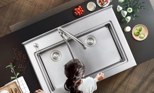 力巨人:厨房装修 选什么水槽好呢