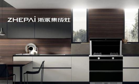 浙派集成灶 简约设计也是豪宅