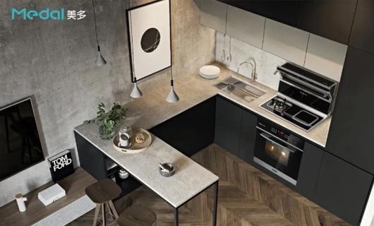 美多嵌入式集成灶让你家厨房 成为别人的向往