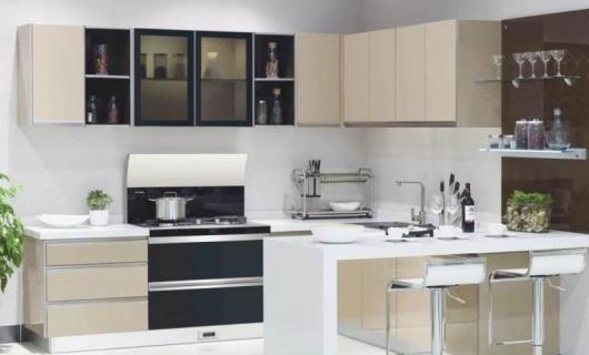 现代厨房装修集成灶和油烟机到底选哪个