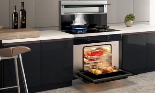 森歌:开放式厨房装修 为什么少不了集成灶