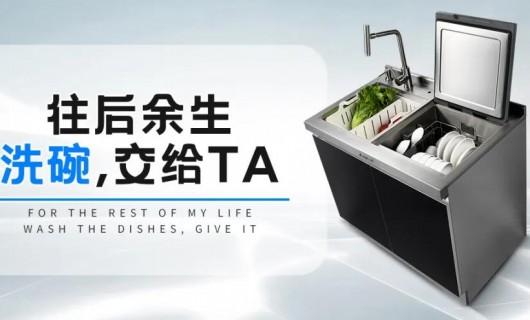 """餐后洗碗限制了你的生活 火星一号集成水槽洗碗机""""洗卷而来"""""""