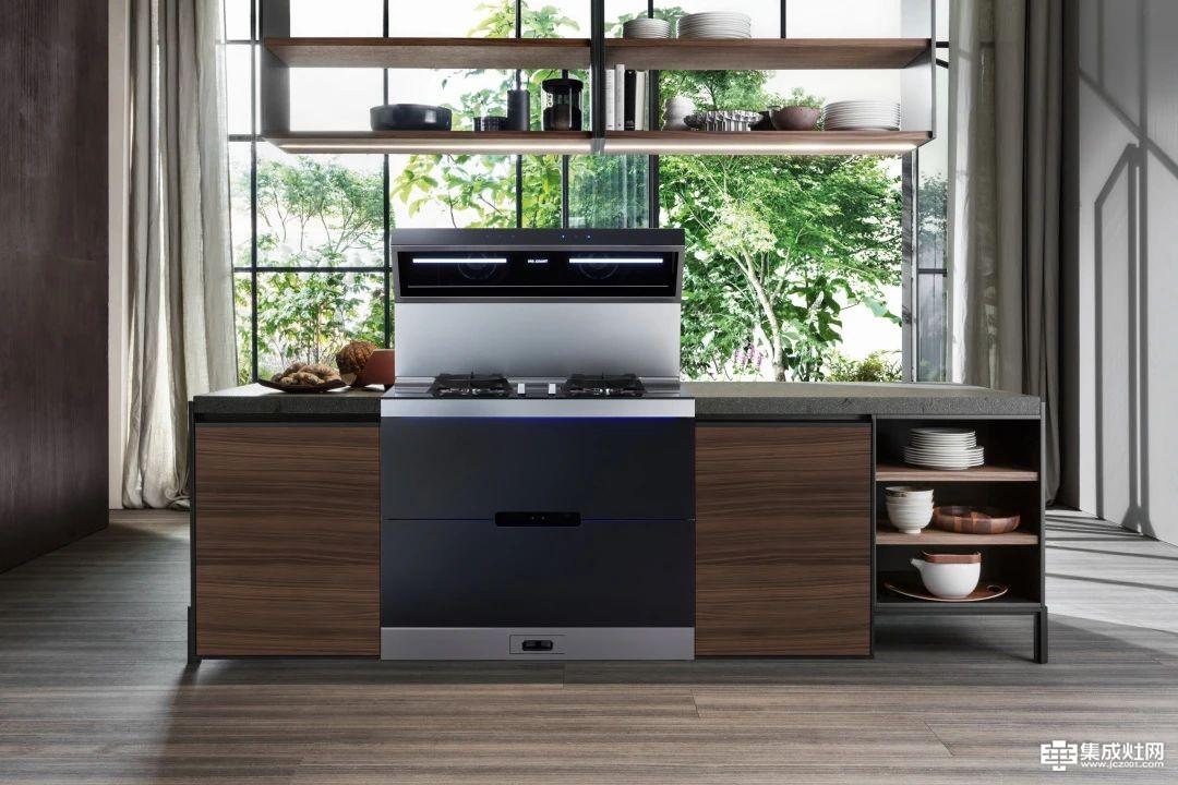 力巨人集成灶:开放式厨房风格 精致生活的另一面展现