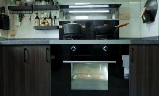 年轻夫妇的高品质选择 打造开放式厨房 使用森歌A8ZK蒸烤一体集成灶