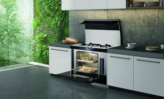 用科技打造现代厨房 集成灶尽显烹饪魅力
